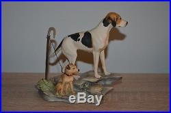 Border Fine Arts, Fell Hound with Lakeland Terrier