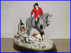 Border Fine Arts GONE TO GROUND Hunting/Hounds