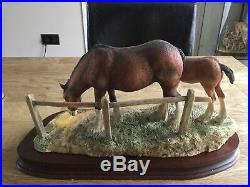 Border Fine Arts Gently Grazing By Ray. Ayres