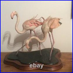 Border Fine Arts Greater Flamingos Limited Edition @