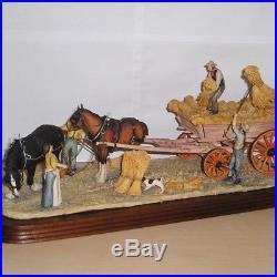 Border Fine Arts HARVESTING L62 Judy Boyt