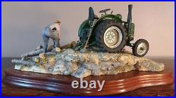 Border Fine Arts'Hauling Out' Field Marshall Tractor Model No JH98 LE 1398/1500