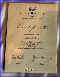 Border Fine Arts Highland Chase