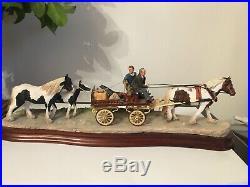 Border Fine Arts Horse ALL SET for APPLEBY FAIR Ray Ayres
