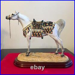 Border Fine Arts Horse, ARAB STALLION A2016. Anne Wall. Boxed