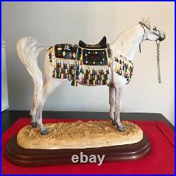 Border Fine Arts Horse ARAB STALLION A2016 rare