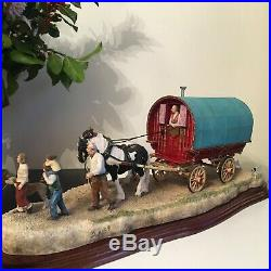 Border Fine Arts Horse TRAVELLING HOME from APPLEBY FAIR Ray Ayres