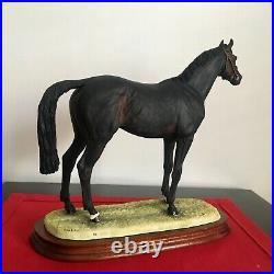 Border Fine Arts Horse Thoroughbred Stallion + certificate Made in Scotland