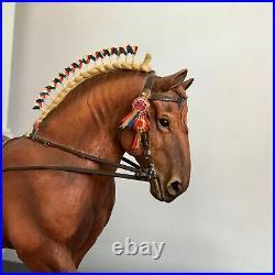 Border Fine Arts Horse rare Gold Edition SUFFOLK PUNCH STALLION superb