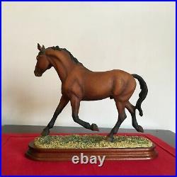 Border Fine Arts Horse ultra rare CLEVELAND BAY + cert. Superb