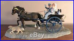 Border Fine Arts'Just Married' Model No B0883 Limited Edition 400/950