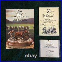 Border Fine Arts Kick Start #b0541 Society Figure Mint In Original Box Rare