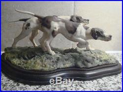 Border Fine Arts L03 English Pointer Dogs by Victor Hayton 258/500 has cert