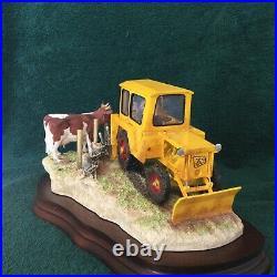 Border Fine Arts Laying The Clays #b0535 Jcb Land Drains Mint In Original Box