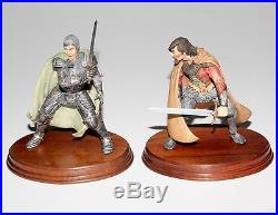 Border Fine Arts, Legend Of King Arthur, Full Set Of 8 Figures