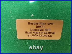 Border Fine Arts Limited Edition Limousin Bull Jack Crewdson B0531