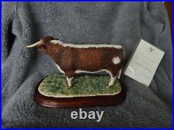 Border Fine Arts Limited Edition Longhorn Bull B1138
