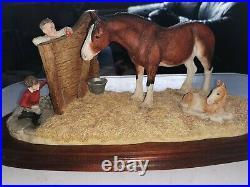 Border Fine Arts Limited Edition Sculptural Model B0201 Next Generation