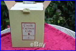 Border Fine Arts Linda Jane Smith Comic & Curious Cats SPOTLESS