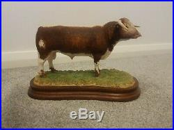 Border Fine Arts Longhorn Bull Limited Edition