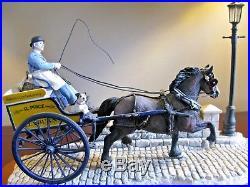 Border Fine Arts Ltd Edition Delivered Warm (Horse-drawn Bakers Van)