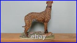 Border Fine Arts'Lurcher' Style One Standing Model No EW1. Ltd. Ed. 192/250