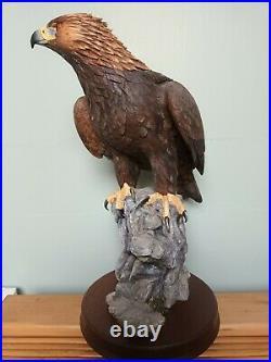 Border Fine Arts Master Of The SkiesGolden Eagle Model No B0529 Ltd Ed 94/250