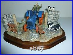 Border Fine Arts NEW TECHNOLOGY ARRIVES TODAY Fordson Tractor (BOXED)