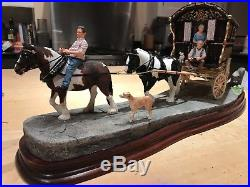 Border Fine Arts Nearly There Appleby Fair Carriage Horse Ayres TO CLEAR