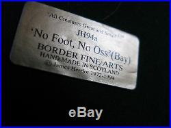 Border Fine Arts No Foot, No'oss (blacksmith)