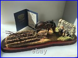 Border Fine Arts Ploughmans Lunch Ltd Edition Of 1750 Pieces New, Boxed