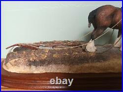 Border Fine Arts'Ploughmans Lunch' Model No B0090B Limited Edition 487-1750