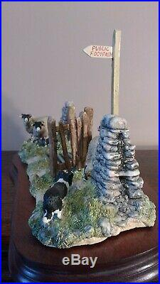 Border Fine Arts'Right Place Wrong Time' Model No JH104 Limited Edt. 862/1750