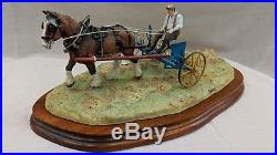 Border Fine Arts Rowing Up Horse and Hay Turner