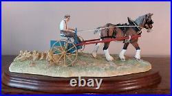 Border Fine Arts'Rowing Up'Standard Model No B0598A. LE469/950 Classic Collect