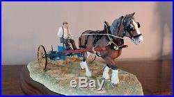 Border Fine Arts Rowing UpStandard Model No B0598A. LE469/950 Classic Collect