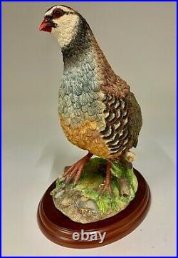 Border Fine Arts Russell Willis French Partridge Figurine