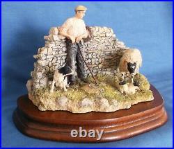 Border Fine Arts Safe Delivery Shepherd Sheep Dog Ltd Ed Signed Ayres Boxed Rare