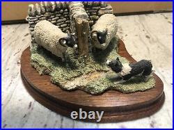 Border Fine Arts Sheepdog And Sheep