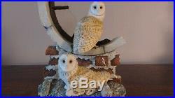 Border Fine Arts'Silent Sanctuary' (Barn Owls) Model No SOC1