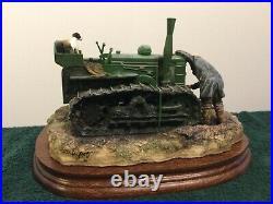 Border Fine Arts Starts First Time #b0702 Tractor Mint In Original Box Rare