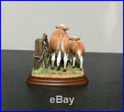Border Fine Arts Studio Simmental Cow And Calf