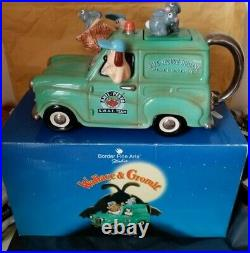 Border Fine Arts Studio Wallace & Gromit Van Teapot
