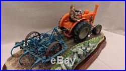 Border Fine Arts The 111a Tractor and Harrow B0918 Field Marshall