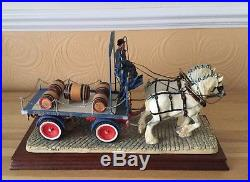 Border Fine Arts'The Gentle Giants' Tetley Dray. Limited Edition 326/750