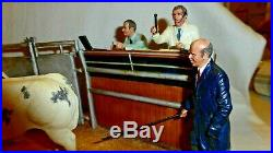 Border Fine Arts Under The Hammer Figurine Belgian Blue Cross Ltd Ed B 0666c