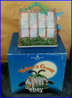 Border Fine Arts Wallace + Gromit Ceramic Collectible Cheese Dish Boxed. VGC