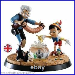 Border Fine Arts Walt Disney A Moment In Time Pinocchio & Geppetto Ltd Ed 250