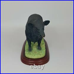 Border Fine Arts Welsh Black Bull Cattle Limited Edition