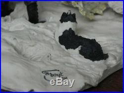 Border Fine Arts Winter Feeding Jh 10 Ltd Edt Signed By Judy Boyt